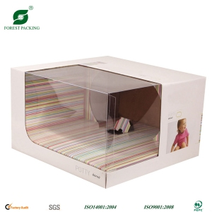 Clear Window Cardboard Box