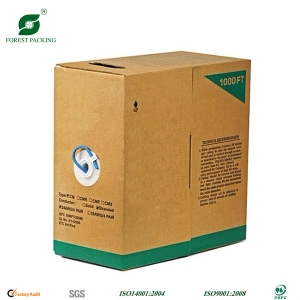 Packaging Box with Plastic Handle