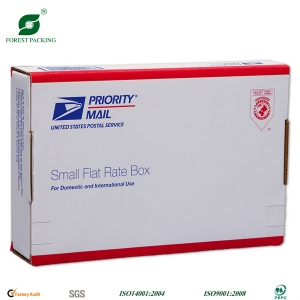Simple print shipping carton