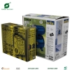 Solid color printing corrugated box