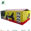 Toy go-cart corrugated packing box