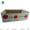 Corrugated paper tray for fruit